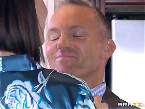hotwife wifey Peta Jensen cooter thrashed by Bill Bailey