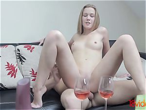 18 Videoz - Alexis Crystal - Morning coffee and fuckfest