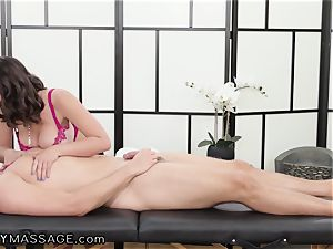 masseuse Ella Knox And Her euro step-brother In Law