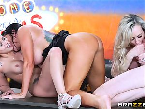 molten dirty fun with Brandi love and her girls