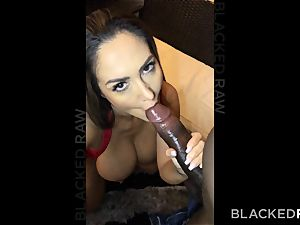 BLACKEDRAW Ava Addams Is ravaging big black cock And Sending images To Her spouse