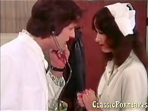 nasty physician pounds her patient and her nurse