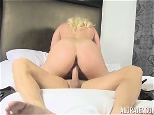 towheaded mummy Alura Jenson decides to cheat on her hubby