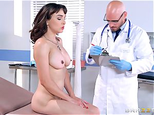 Cytherea is left splooging as she visits the doctor