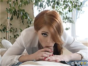 Fiesty Penny Pax wedged in her pussyhole
