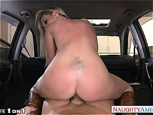 insane Nikki Benz in point of view getting her milf snatch penetrated