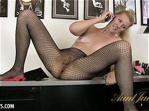 Lacy's insatiable phone masturbation