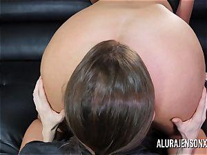 buxom mummy Alura Jenson has her ginormous arse idolized