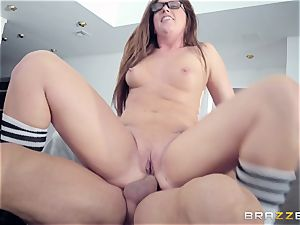 Maddy OReilly nailed rock hard by Johnnys rock-hard man-meat