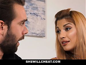 SheWillCheat - super-hot cheating wife revenge poking