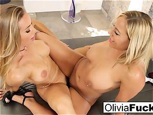 Olivia Austin and Nicole Aniston have some lesbo fun