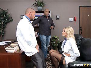 torrid doc Audrey demonstrate penetrated in her uniform