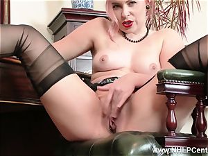 red-haired is antique nylon fetish bitch at wank Off Club