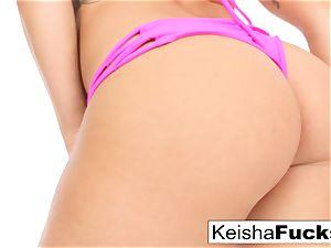 super-fucking-hot pornstar Keisha gets her moist snatch pulverized