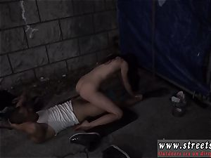 masculine fuck-a-thon sub pounded and extreme passion very first time tough outdoor public bang-out is