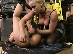 Andy brown and Kathia Nobili donk dildoing firm