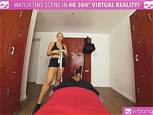 VRBangers.com torrid babe sweat-soaked banging Her Boxing Coach