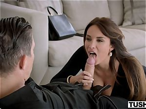 TUSHY magnificent French lady loves assfuck