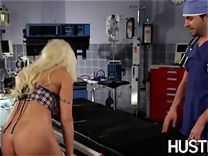uber-sexy Britney Amber ravaged during doctors examination