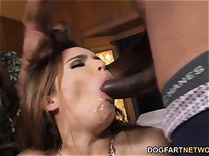 Natasha ultra-cute bi-racial gang-fuck fuckfest