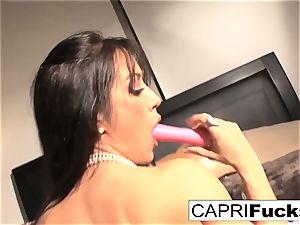 Capri Cavanni screws her cock-squeezing slit