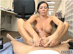 Rachel Starr footjob