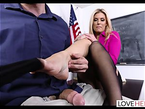 supah super-naughty sole romp With The stellar Mrs Summers