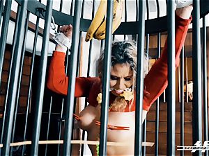 off the hook feet force - Lesdom tortures German feet subs