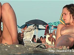 nude beach hidden cam shoots cuties with a hidden cam