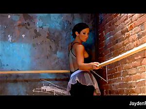 super-sexy ballet lessons w Jayden Jaymes