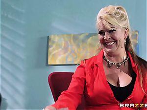 Krissy Lynn endures her hardest interview