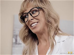 Cherie Deville likes playing doctor