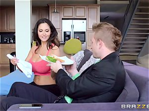 Ava Addams is torn up in both her raw crevasses