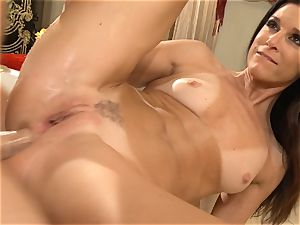 milf India Summers gets analled in the bathroom