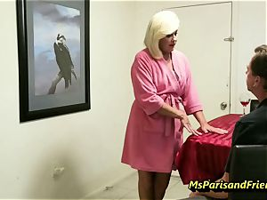 drilling the Boss's wife with Ms Paris Rose