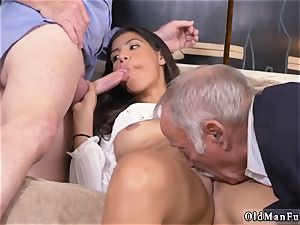 Mature entices youthful doll Going South Of The Border