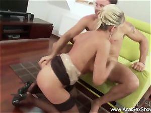 ash-blonde milf kinky anal venture