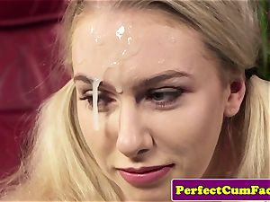 huge-titted jism therapist boob job for facial