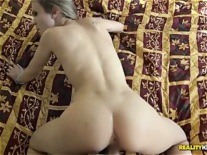 humping the insatiable sweetheart Rachel James deep in her muff pudding